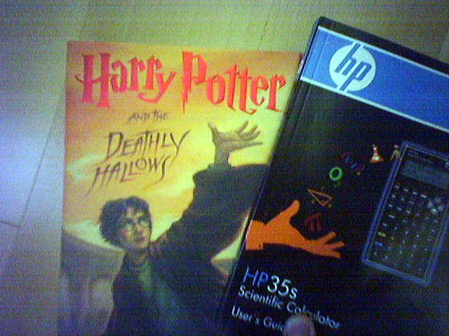 Harry Potter, the HP-35s, and the Deathly Hallows