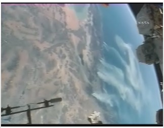 STS 120 California wildfires